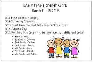 Kanoelani Spirit Week.png