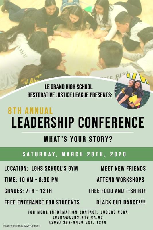 Eighth Annual Leadership Conference Featured Photo