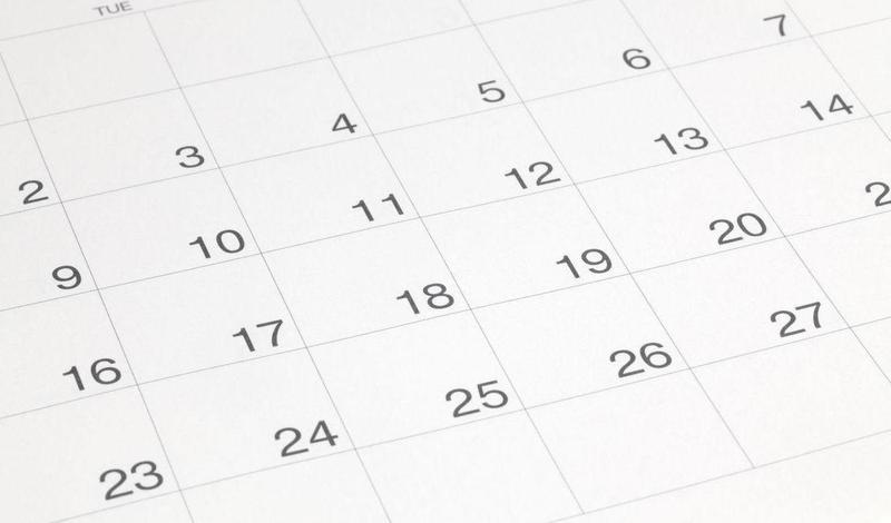 Academic calendar released