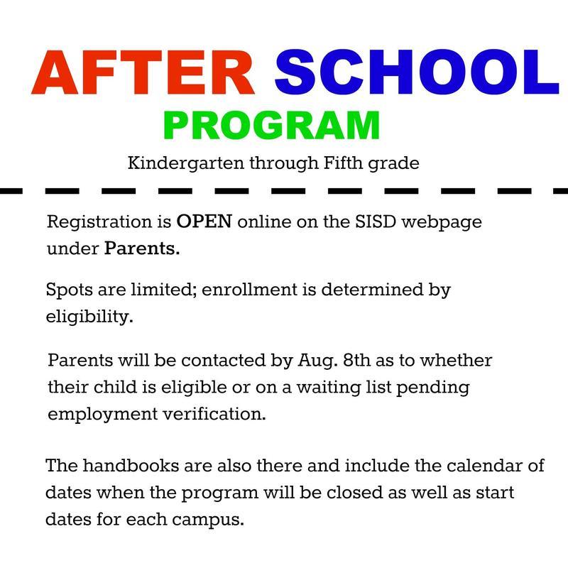 Details for After School Program