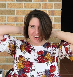 TKHS teacher Amy Forman loves her short hair.
