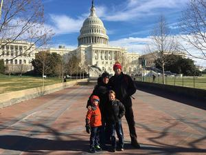 2017-12 Andrew Frishman and Family in front of US Capitol.jpg