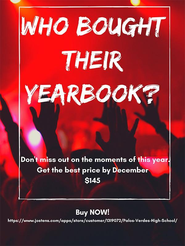 Who bought their yearbook? Thumbnail Image