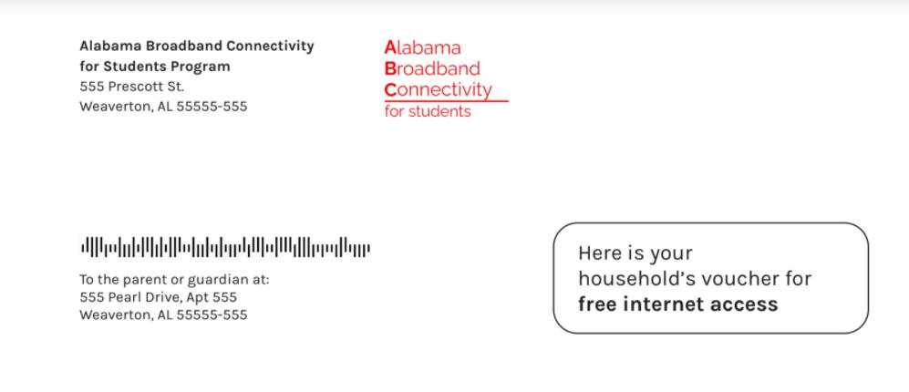 ABC Envelope Sample