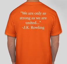 ORANGE FOR UNITY T-SHIRT DAY - THURSDAY, OCT. 29 Featured Photo