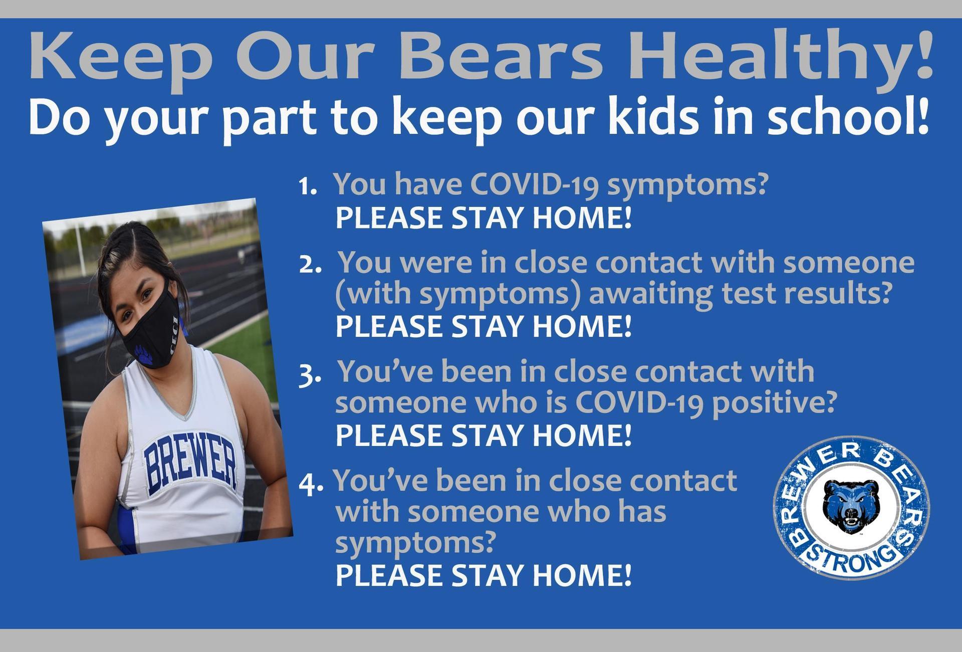 Keeping Bears Healthy Banner