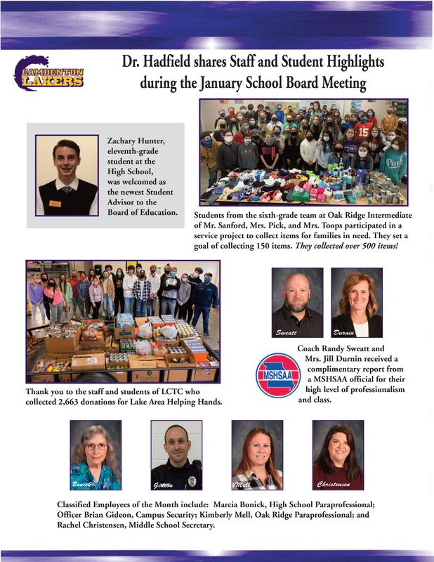 January - Board Meeting Featured Photo