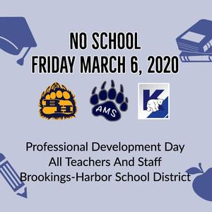 Professional Development Day March 6