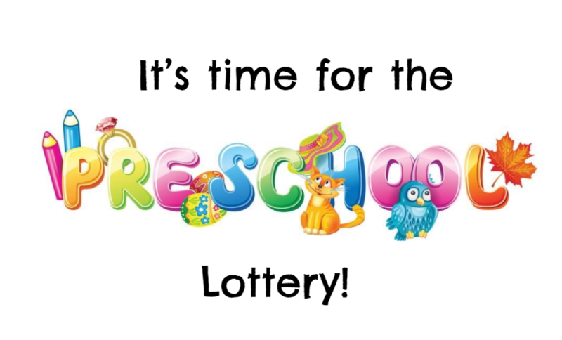 it's time for the preschool lottery
