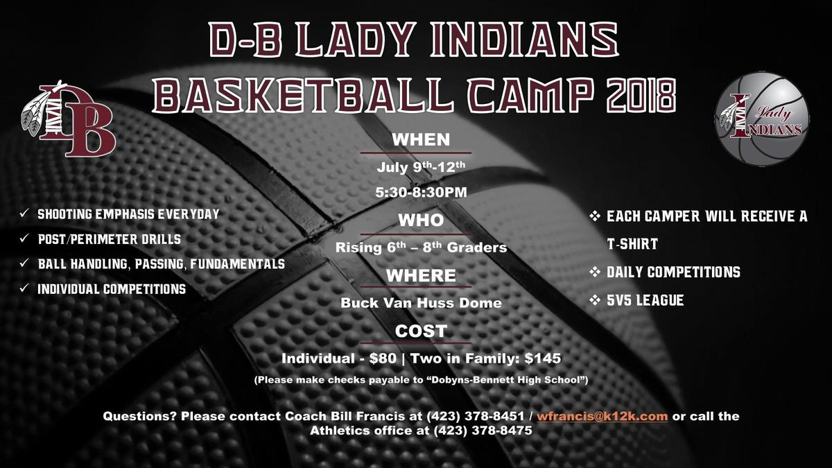 Lady Indian Bball Camp