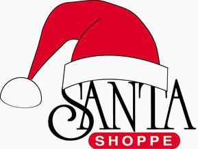 Santa Hat with the words Santa Shoppe