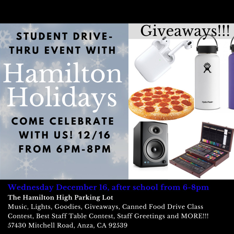 Pictures of Raffle Prizes & other things Hamilton Holidays on Wednesday December 16 from 6-8 PM