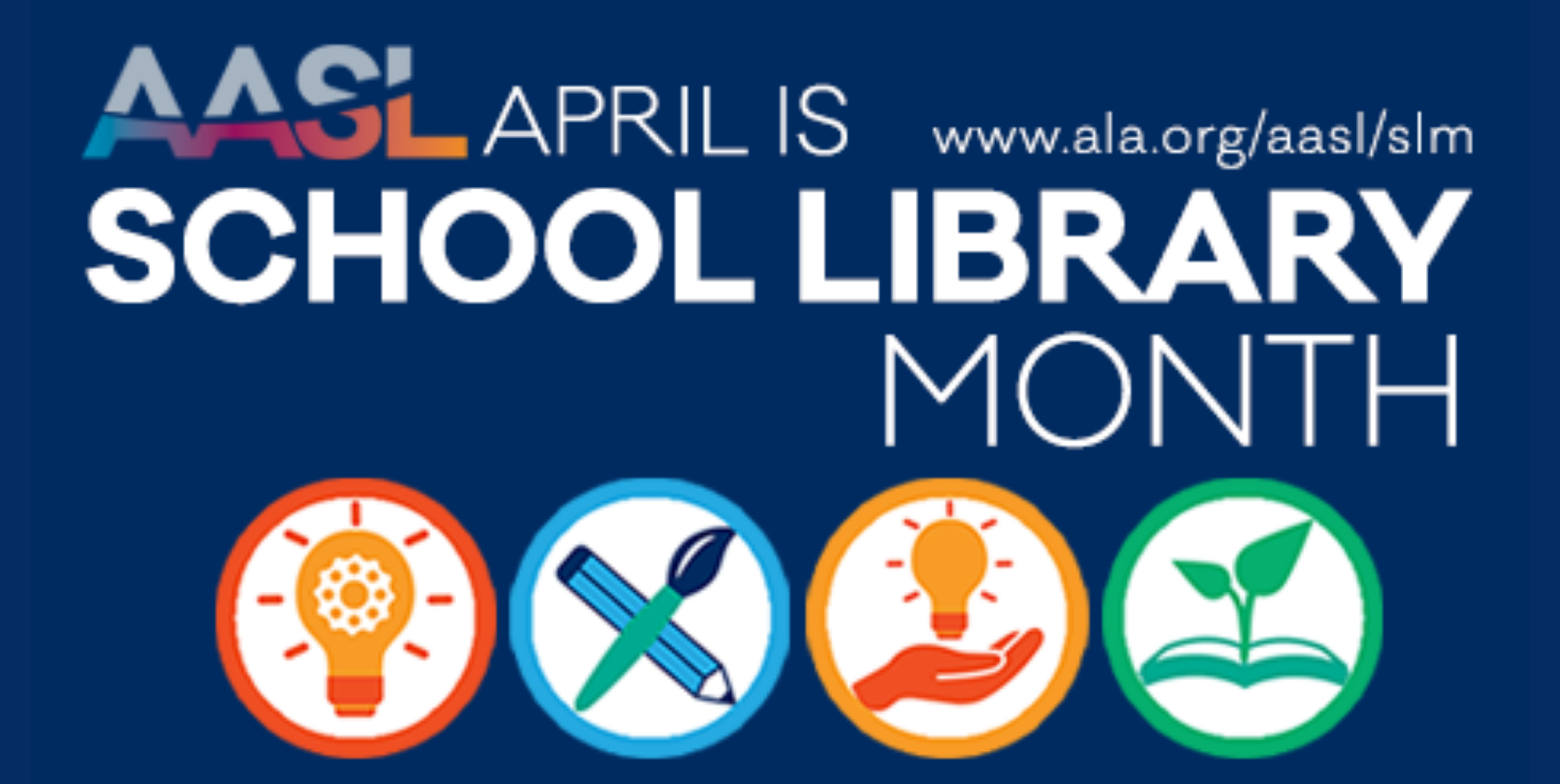 school library month.