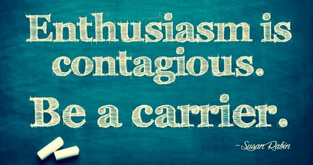 Enthusiasm carrier