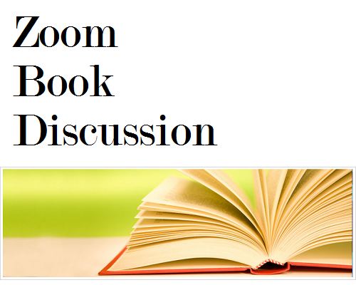 You are invited to a virtual book discussion scheduled for Tuesday, October 6th, at 8:00 pm Featured Photo