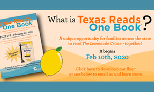2020 Texas Reads One Book