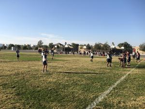Flag Football at Diamond Valley