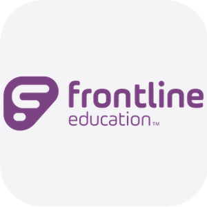 Frontline Education button