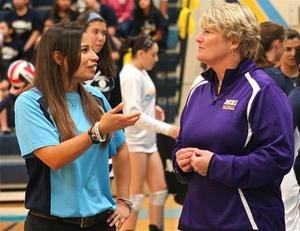 Lorena Lopez mcallen memorial volleyball coach