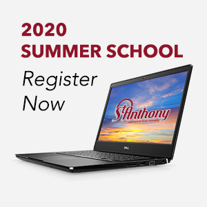 2020 Summer School, Register Now and Laptop Image
