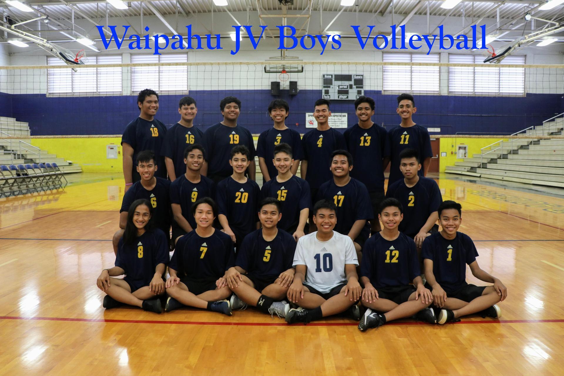 18-19 Volleyball Boys JV