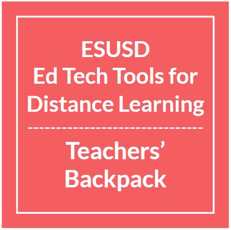 ESUSD Ed Tech