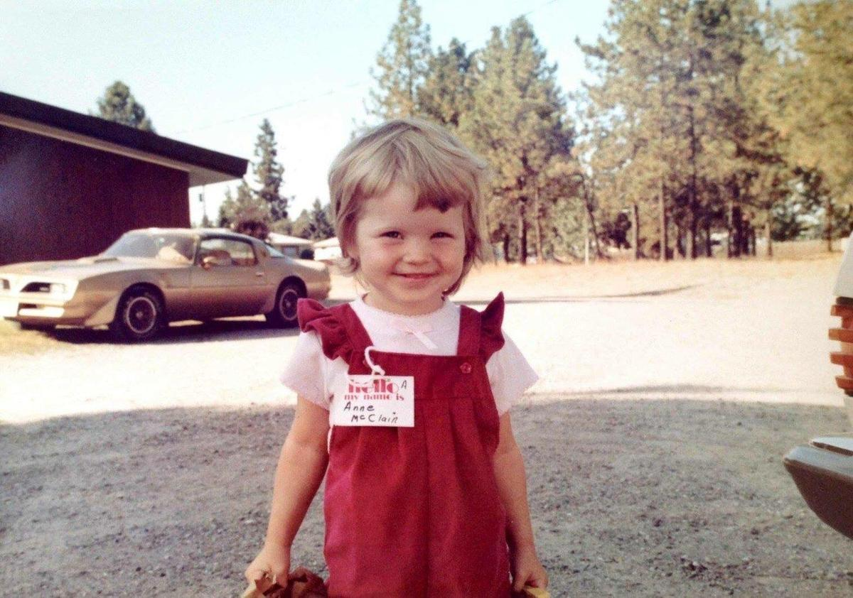 Anne McClain at 3 years old