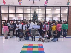 W.G. Nunn Elementary Junior Beta Club Blanket Drive