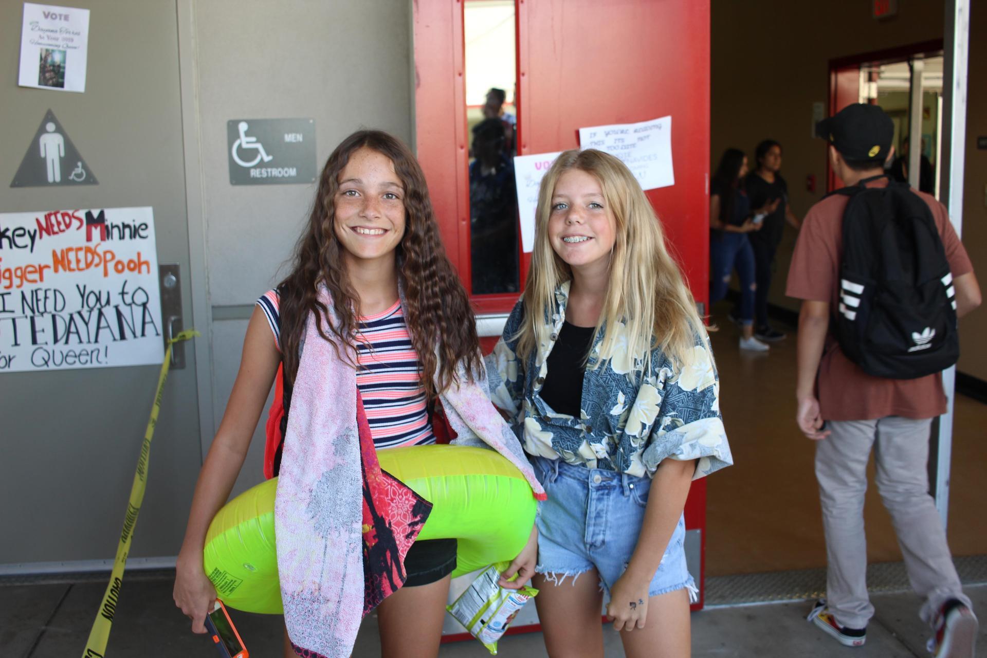 Enjoying life at Chowchilla High School events