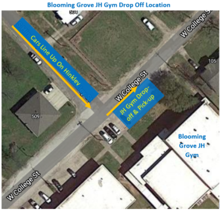Map of JH Gym