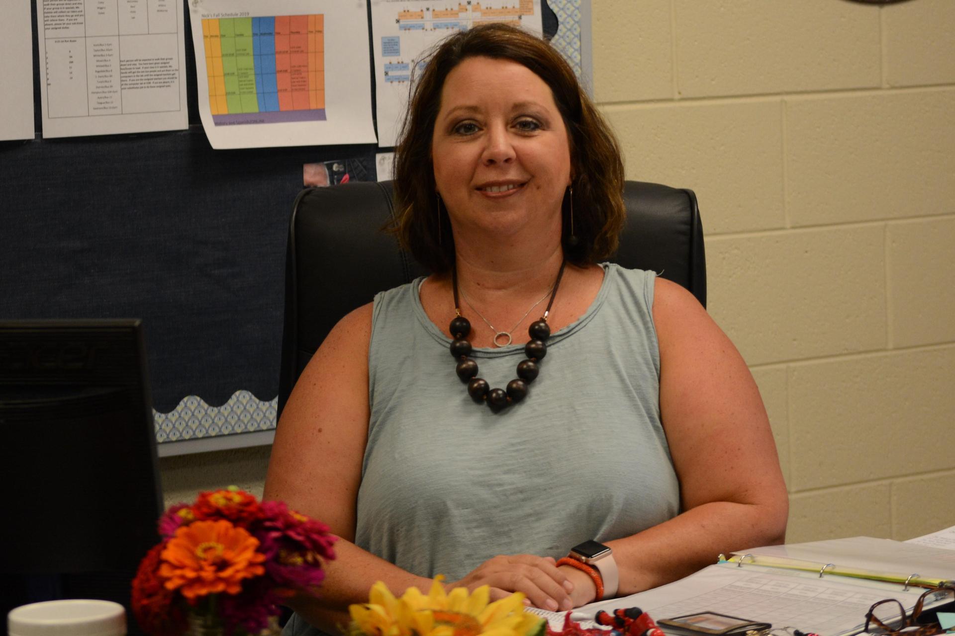 Principal Casey Davis