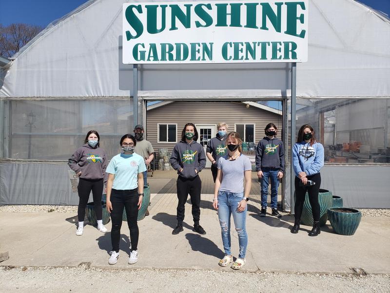 HS Science Club at Sunshine Garden Center