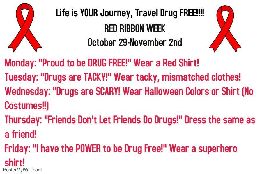 Red Ribbon Week Flyer