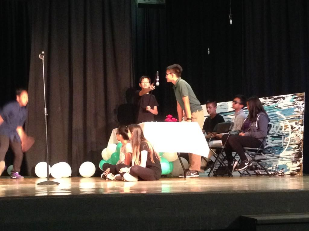 CCA students take the stage to act out Shakespeare.