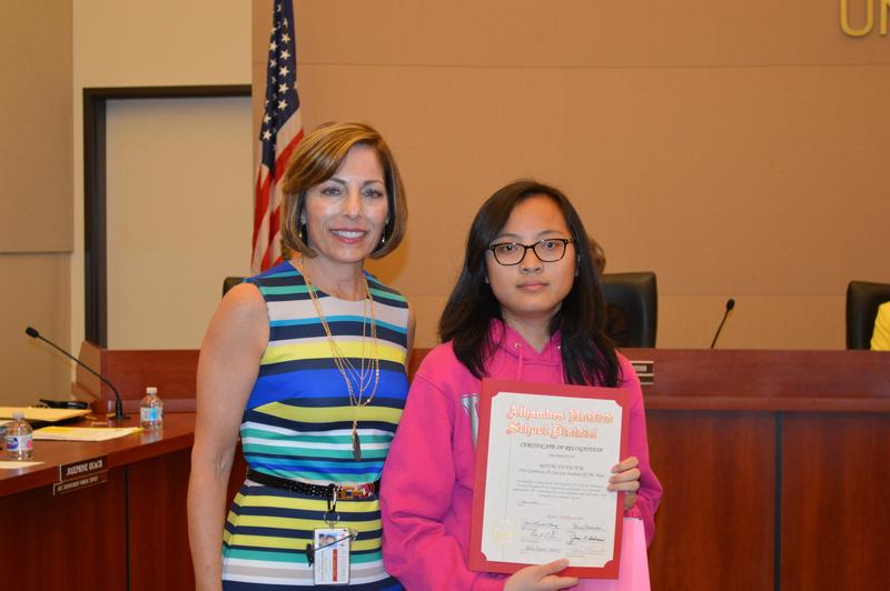 Outstanding SGHS Students Recognized by the AUSD Thumbnail Image