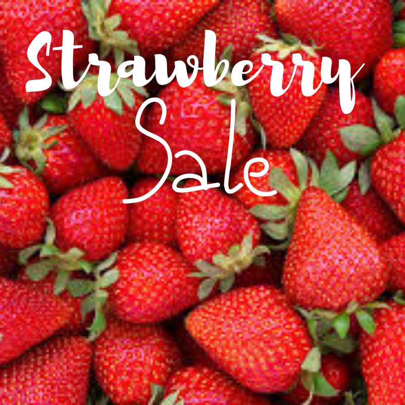 Strawberry Sale