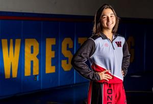 Aine Drury of Westminster High was last season's Orange County female wrestler of the year.