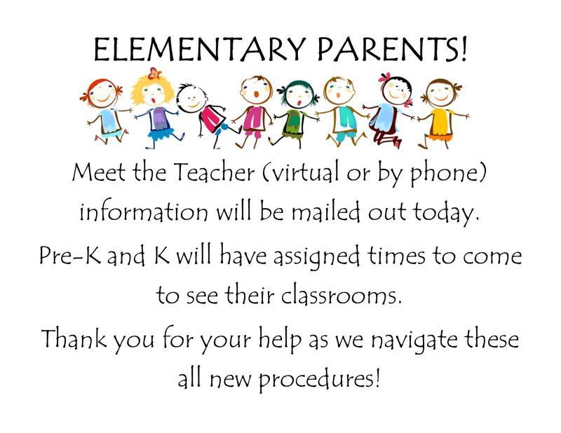meet the teacher info