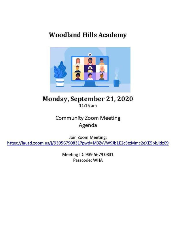 WHA Community Zoom meeting 9.21.20 Featured Photo