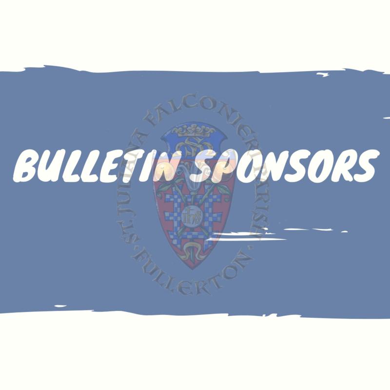 Bulletin Sponsors Featured Photo