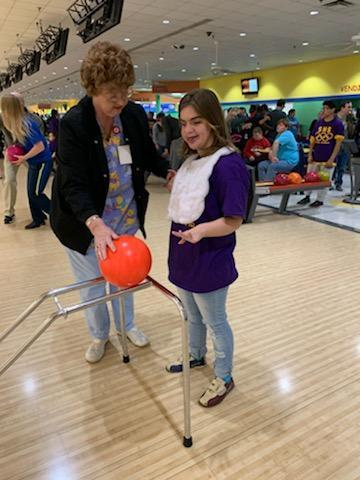 Area 16 Special Olympics bowling