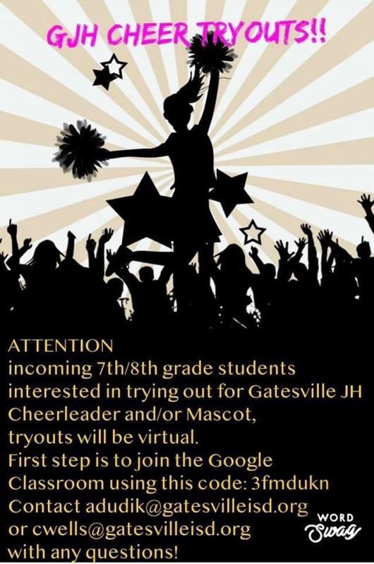 GJHS CHEERLEADER TRYOUTS Featured Photo