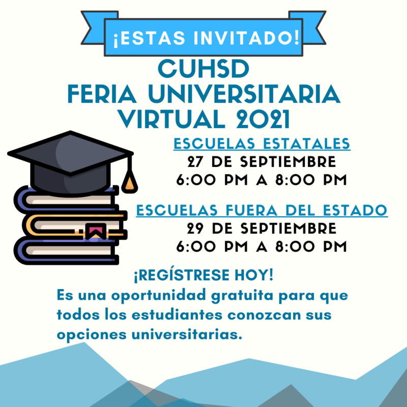 Virtual College Fair Flyer