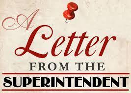 Supt letter