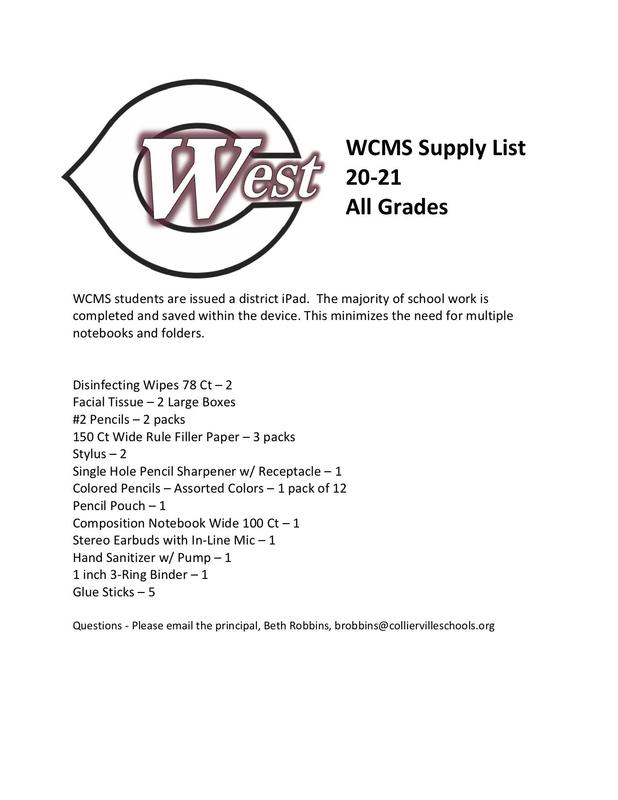 2020-21 Supply List Featured Photo