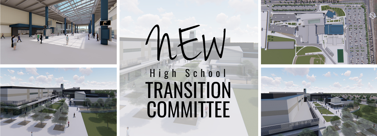 New High School Transition Committee Logo