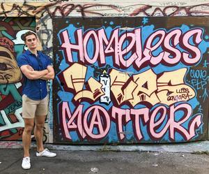 Blue Shirt - Homeless Lives Matter
