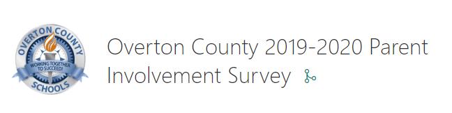 2019-2020 Parent Involvement Survey Featured Photo