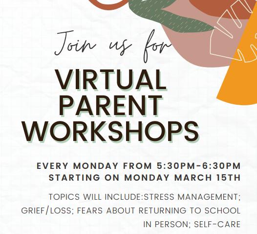 Virtual Parent workshops