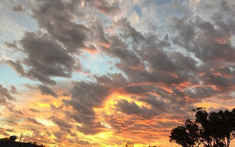 Sunrise at Brea Olinda High School